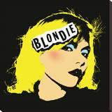 Blondie - Punk Reprodukce na plátně