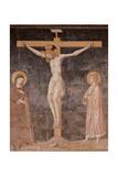 Crucifixion, Pietro Cavallini, c. 1309, San Domenico Maggiore, Naples, Italy Posters by Pietro Cavallini