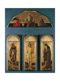 Triptych of St. Sebastian Posters by Gentile & Giovanni & Jacopo Bellini