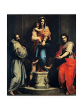 Madonna of the Harpies Giclee Print by Andrea Del Sarto