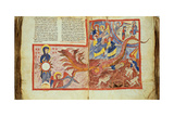 Apocalypse, Commentary of the Book of the Apocalypse by St. John, 11th c., Turin, Italy Posters