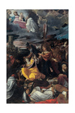 Assumption of the Virgin Arte por Ludovico Carracci