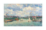 Port at Charenton Prints by Jean-Baptiste-Armand Guillaumin