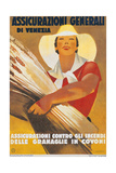 Assicurazioni Generali di Venezia (Poster for Crop Insurance) Posters by Marcello Dudovich