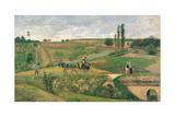 Route d'Ennery Prints by Camille Pissarro
