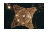 San Vittore al Corpo Church, Painted Interior of Dome, Milan, 1560, Italy Poster by  Gerolamo