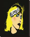 Blondie - Punk Stretched Canvas Print