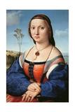 Portrait of Maddalena Doni Affiche par  Raphael