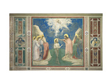 Baptism of Jesus Christ by John the Baptist Giclee Print by  Giotto di Bondone