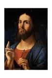 Savior Blessing Kunst von Alvise Vivarini