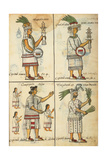 Aztec Chronicles, Priests and warriors Prints