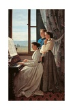 Folk Song Posters by Silvestro Lega