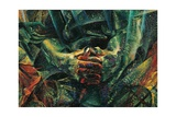 Matter Prints by Umberto Boccioni