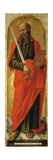 St. Paul, from Polyptych with St. Ambrose Blessing Giclee Print by Bartolomeo Vivarini