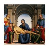 Pieta Prints by Perugino Vannucci