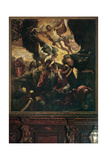 Baptism Poster by  Tintoretto