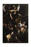 Seven Works of Mercy Posters af  Caravaggio