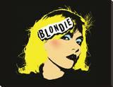 Blondie - Punk Stretched Canvas Print
