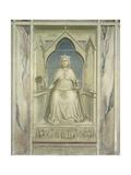 Virtues and Vices, Justice Poster von  Giotto di Bondone