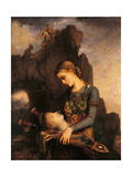 Orpheus Giclee Print by Gustave Moreau