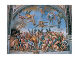 Last Judgment. Lost Souls in Hell Giclee Print by Luca Signorelli