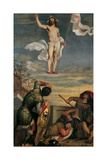 Resurrection of Christ Posters by  Titian (Tiziano Vecelli)
