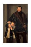Iseppo and Adriano da Porto Poster von  Veronese