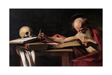 St. Jerome Posters by  Caravaggio
