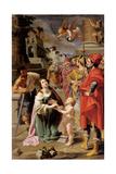Martyrdom of St. Dorothy Print by Antonio Maria Fabrizi