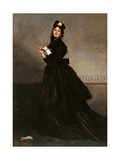 Lady with a Glove (Mrs. Carolus Duran, a.k.a. Pauline Croizette) Posters by Charles Durand