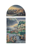 Naval Siege of a City Prints by Niccolo dell'Abbate