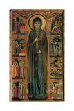 Polyptych of Saint Clare Poster by  Maestro della Santa Chiara