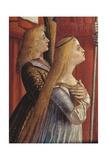 Legend of St. Ursula. Pilgrims Meet the Pope under the Walls of Rome by Vittore Carpaccio, c. 1491 Plakater af Vittore Carpaccio