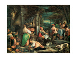 Supper at Emmaus Giclee Print by  Bassano