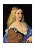 Violante (La Bella Gatta) Giclee Print by  Titian (Tiziano Vecelli)