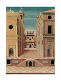 City View (Scenography) Prints by Sebastiano Serlio