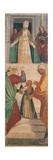Presentation of the Virgin in the Temple Giclée-tryk af Gaudenzio Ferrari