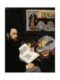 Portrait of Emile Zola Prints by Édouard Manet