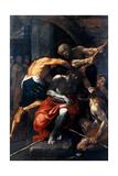 St. Rocco Láminas por Ludovico Carracci