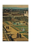 View of Vienna from the Belvedere Print by Bernardo Bellotto