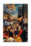 Barnemordet i Betlehem Poster av Guido Reni