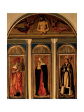 Triptych of the Virgin Poster by Giovanni Bellini