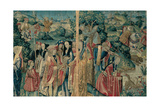 Tapestry with Hunting Scene, Flemish, 1470-1480. Urbino, Italy Art by  Flemish weavers