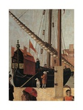 Legend of St. Ursula. The Arrival of the English Ambassadors by Vittore Carpaccio, 1490-1495 Posters by Vittore Carpaccio