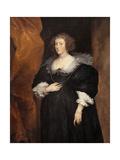 Damenbildnis Kunstdrucke von Antony Van Dyck