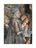 Meeting by Andrea Mantegna, c. 1465-1474. Camera degli Sposi, Ducal Palace, Mantua. Giclee Print by Andrea Mantegna