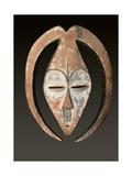 Masque Africain Reproduction procédé giclée