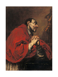 St. Charles Borromeo in Prayer Prints by Giuseppe Pianca