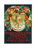 Poster Advertising National Fruit Exhibition Posters by Marcello Dudovich Dudovich