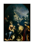 Adoration of the Magi Giclee Print by Sante Peranda